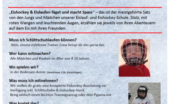EHCKK Eishockey Schnupperwoche